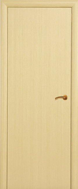 Шпонированная дверь Беленый дуб 30, Фабрика Престиж